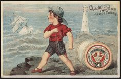 Chadwick's imported spool cotton [front] | Flickr - Photo Sharing!