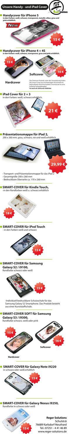 Handy und iPad Cover