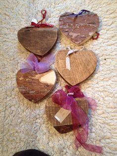 Medium hearts £7.50 each