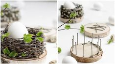 Projects For Kids, Diy For Kids, Easter Party, Creative People, Dyi, Diy And Crafts, Candle Holders, Place Card Holders, Ikebana