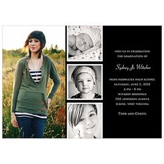 Graduation Invitations Bold Linen by Tiny Prints Senior Night