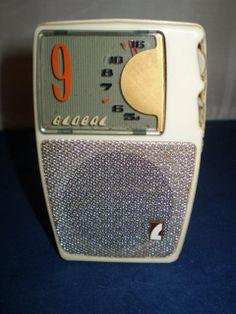 Vintage Global 9 Transistor Radio GR 900   eBay