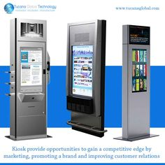 #Kiosk provide opportunities to gain a competitive edge by #marketing, #promoting a brand and #improving #customer #relations. #TucanaGlobalTechnology #Manufacturer #HongKong