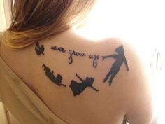 I always wanted a Peter Pan tattoo, but then Once Upon a Time happened haha