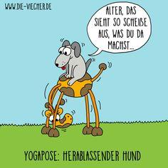 @DieViecher , Cartoon , Comic , Giraffe , Giraffen , www.die-viecher.de , Oberhausen , NRW  , Deutschland , Cartoonist, Eva Böhm, Redewendung, Sprichworte, Wortspiele, schwarzer Humor, Wortwitz, wortwörtlich nehmen, über Worte stolpern, Animation Cartoon, lustige Tiere, typisch Deutsch,   Yoga, Yogapose, Yoga Beginner, Herabschauender Hund, Herablassender Hund, Yoga mit Hund, Yoga Challange, Yogacallange, Yoga Posen