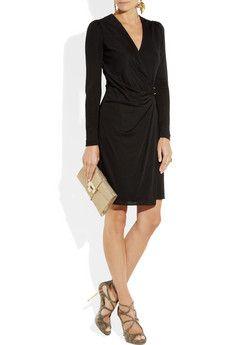GUCCI  Jacquard crepe-jersey dress