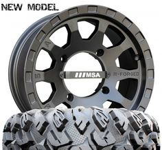 MSA R-Forged F2 Wheels with EFX MotoClaw Tires