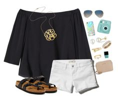 """Can we just have summer already?"" by lrsoccergal35 ❤ liked on Polyvore featuring Rebecca Taylor, Abercrombie & Fitch, Jennifer Zeuner, Miadora, Anne Klein, Ray-Ban, Fujifilm, Lilly Pulitzer, Butter London and MICHAEL Michael Kors"