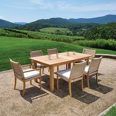 """Kingsley Bate Hyannis 102"""" Rectangular Extension Dining Table 