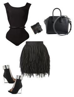 """""""Untitled #169"""" by emeraldtaylor on Polyvore featuring sass & bide, Fleur du Mal, Givenchy and Jeffrey Campbell"""