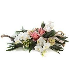Rouwarrangement Orchidee