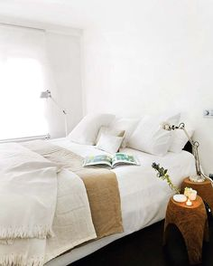 i love simple bedrooms