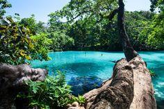 The Blue Lagoon, Portland Jamaica