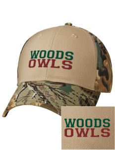 William Woods University Owls Embroidered Camouflage Cotton Twill Low Profile Cap