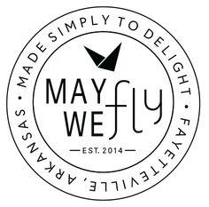 May We Fly — Desk + Stationery Desk Stationery, Watercolor Artwork, Logo Stamp, Original Artwork