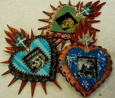 Heart shrines, Mary Jane Chadbourne