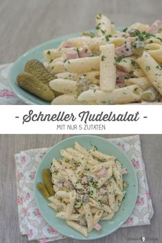 Schneller Nudelsalat mit nur 5 Zutaten Fast Pasta Salad with only 5 ingredients. Classic recipe as from Mama, uncomplicated, fast and simply delicious. Best Tuna Salad Recipe, Apple Salad Recipes, Arugula Salad Recipes, Chicken Salad Recipes, Healthy Salad Recipes, Chicory Salad, Easy Egg Salad, Mayonnaise, Pasta Salad