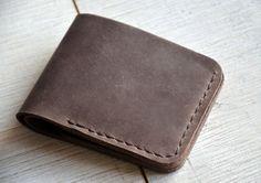 Men's Leather Wallet, Bifold Wallet, Groomsmen Gift, Man Wallet, wallets for men, mens leather wallet, mens wallet, boyfriend gift, wallet