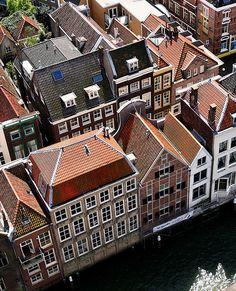 Dordrecht Rooftops, Netherlands