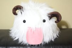 Hey, I found this really awesome Etsy listing at http://www.etsy.com/listing/154778722/league-of-legends-poro-plushie