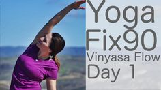 Yoga Fix 90: Day 1 is a vinyasa flow class focusing on strengthening and opening the upper back and shoulders. We also focus on strengthening the core muscle...