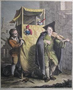 Francesco magiotto. 1770, Burattini, Lyon