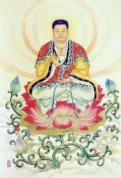 Amitabha Buddha, Thing 1, Buddhist Art, New Life, Buddhism, Spirituality, Culture, Disney Characters, Painting