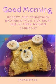 Frischkäse-Brotaufstrich für das Baby