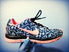 Cheetah Nike free runs 5