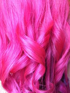 Why can't I have a full head of hair pink its not permanent :( a girl can only dream