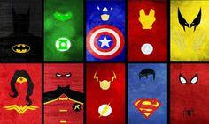 Painel Super Heróis G - Frete Grátis