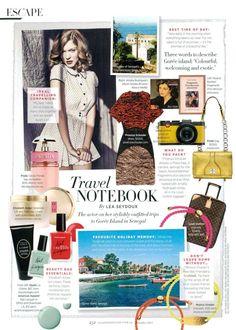 Vacation inspiration - American Apparel Nail Polish featured in Harper's Bazaar Australia!