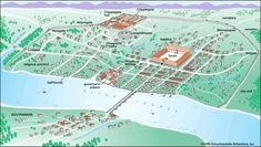 Map/Still:The Roman settlement of Londinium, shown as it was in about AD eventually developed into the modern metropolis of London. London Map, Old London, London City, Tudor, Roman City, Roman Era, Roman Britain, Roman Architecture, Ancient Architecture