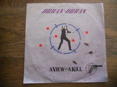 Duran Duran A view to a kill 007 record van Silly67 op Etsy, €8,00