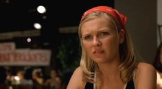 Kirsten Dunst - Bring It On (bandanna, bandana) Kirsten Dunst, 2000s Fashion, Fashion Outfits, 90s Hairstyles, Iconic Movies, Vintage Girls, Hair Inspo, Girls Night, My Girl