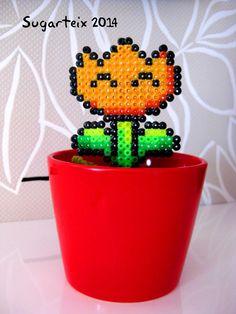 Tulipan naranja de Mario Bros para decorar tus macetas.  Si te gusta puedes adquirirlo en nuestra tienda on-line: http://www.sugarshop.eu