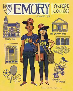 The college that I want to go to is Emory Oxford University  #Atlanta #Georgia