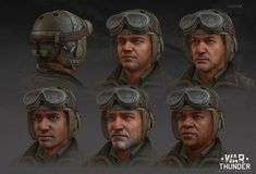 ArtStation - War Thunder US tankers, Vadzim Makaranka War Thunder, Zbrush, Game Art, Artwork, Movies, Movie Posters, Characters, 3d, Work Of Art