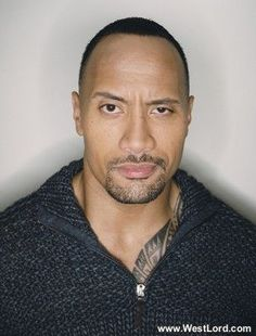 Dwayne Johnson Just look at me that way...that's all it would take!
