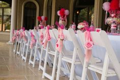 TiTi's TuTu's wands as centerpieces styled by Ellen Bessette