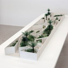 Anouk Vogel - the national pavilion of the kingdom of bahrain, with anne holtrop, milan expo 2015 Landscape Architecture Model, Landscape Architecture Drawing, Pavilion Architecture, Landscape Art, Interior Architecture, Landscape Design, Chinese Architecture, Sustainable Architecture, Residential Architecture