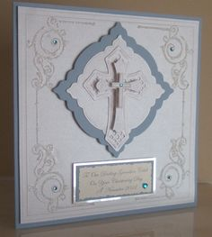 Caleb's Christening Card by: Emerald-Isle