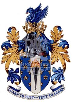 Empire Test Pilots School  (Full Heraldic Achievement awarded 7 Sep ?49