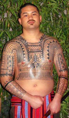 beautiful Filipino tattoooing