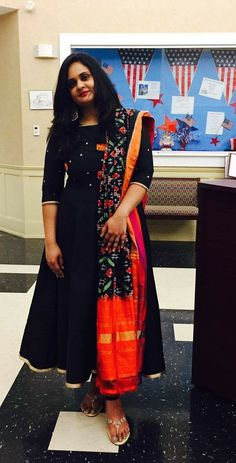 Designer kurtis before they hit the market - ArtsyCraftsyDad Simple Gown Design, Long Dress Design, Stylish Dress Designs, Kurta Designs Women, Kurti Neck Designs, Dress Neck Designs, Indian Designer Outfits, Designer Dresses, Designer Kurtis