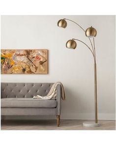 Mid-century floor lamps: Arc floor lamps that will elevate your mid-century modern interior