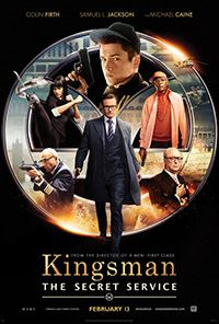 KINGSMAN as pop culture Arthuriana. Sortal   Kingsman, directed by Matthew Vaughan and starring Colin Firth and Samuel L. Jackson, is a rousing, raunchy, rude and red-in-tooth-and-claw comic book of a movie...