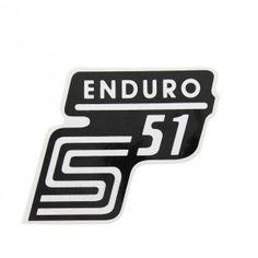Simson S51 Aufkleber - simson - für Tank - weiß / schwarz Retro, Products, Script Logo, Sticker, Colour, Black, Retro Illustration, Gadget