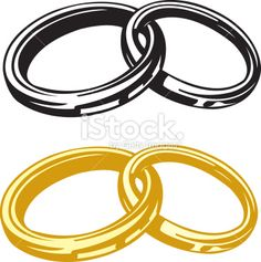 Wedding rings vector  The vector image of wedding rings by PhotoNAN, via Shutterstock ...