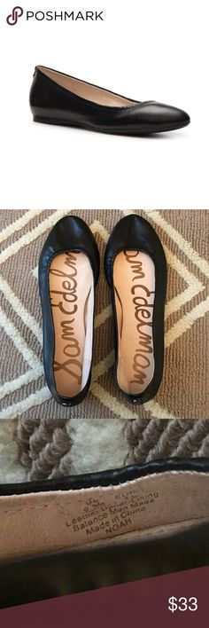 "Sam Edelman Black Leather Noah Flats Sz 9.5 EUC! 🔹Sam Edelman  🔹""Noah"" black, rounded toe flats   🔹Size 9.5  🔹Leather upper  🔹Excellent used condition! Gently worn once!  ✳️ Bundle to Save 20%!  ❌ No Trades, Holds, PP, Modeling  🎀 100% Authentic!   ⭐️⭐️ Suggested User • 1300+ Sales • Fast Shipper • Best in Gifts Party Host! ⭐️⭐️ Sam Edelman Shoes Flats & Loafers"